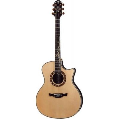 Crafter ML-ROSE + Электроакустическая гитара